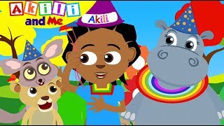 WE ARE TWO TODAY! | Celebrate Akili and Me's Birthday | Cartoons for Preschoolers