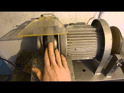 Точило из стиральной машины своими руками видео