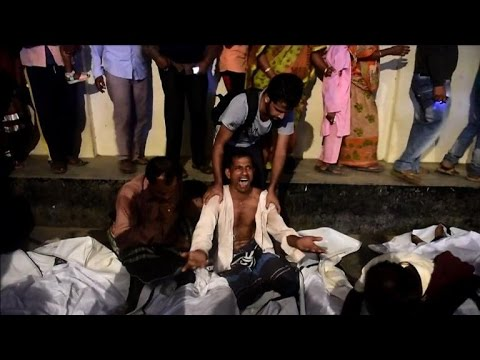 At least 60 dead as Bangladesh ferry sinks after collision
