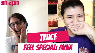 TWICE 'Feel Special' TEASER MINA REACTION!!!
