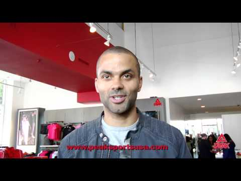 Tony Parker PEAK Interview