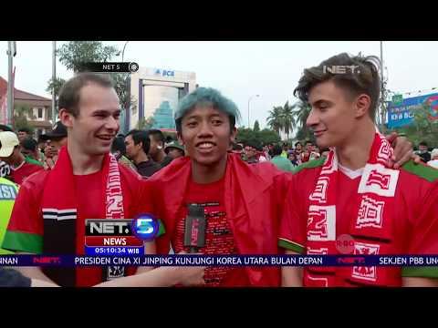 Suporter Sepakbola Indonesia Tidak Hanya Berasal dari Indonesia - NET 5
