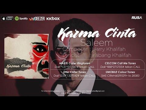 Saleem - Karma Cinta [Official Lyrics Video]