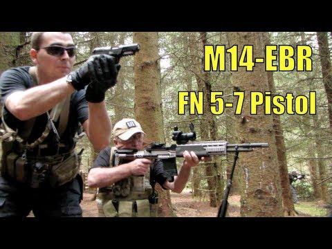Airsoft War M14 EBR, Galil, G&G M4, 1911, AK-102 Section8 Scotland
