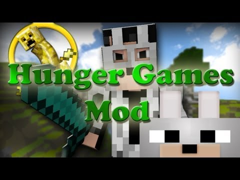 Minecraft Mods - Hunger Games Mod 1.5.2 Review and Tutorial (Battle against NPCs!)