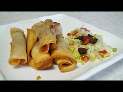 Flautas & Taquitos  - Baked & Fried - Mexican Cuisine