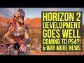 Horizon Zero Dawn 2 Development MOVES TO NEXT PHASE, Coming To PS4?! & More (Horizon Zero Dawn DLC)