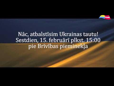 Latvija Ukrainai: No Sirds Uz Sirdi video