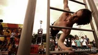 The Second open festival of street gymnastics (workout)- RESTART. Moscow 2013