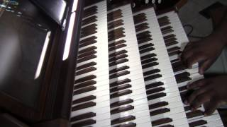 He is exalted - Pipe organ