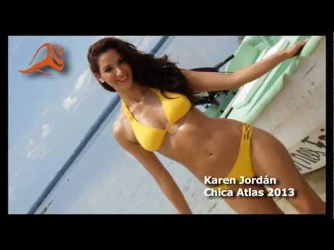 Chicas Atlas 2013, Clip Karen Jordán