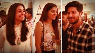 Actress Jyothika | Dulquer Salmaan | Bindhu Madhavi | Vikram Prabhu Inaugurates Amortela Store