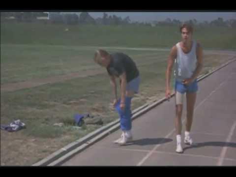 across the tracks - joe and bill race off