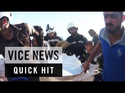 Aftermath of Airstrike on Syrian Refugee Camp: VICE News Quick Hit