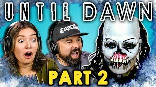 UNTIL DAWN is Back! - Part 2 (React: Let's Plays)