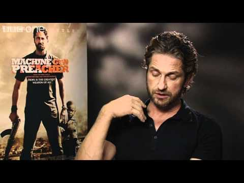 Gerard Butler on Machine Gun Preacher - Film 2011 With Claudia Winkleman - BBC One