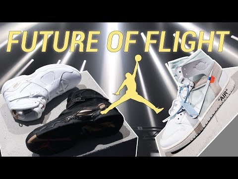 CRAZY NEW AIR JORDANS UNVEILED AT FUTURE OF FLIGHT IN LA