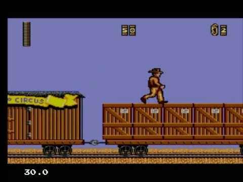 Sega Master System - Indiana Jones and the last Crusade