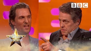 Cat or Dog person? Matthew McConaughey v Hugh Grant | The Graham Norton Show - BBC