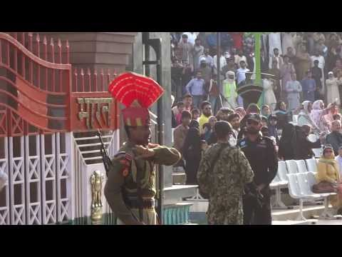 Attari ( Wagah) Border Ceremony video