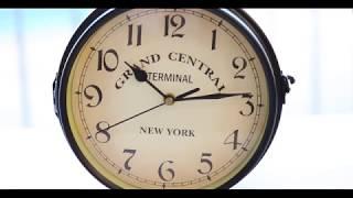 Infortisa - Unboxing Platinet Reloj de pared retro estación