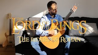 The Riders of Rohan - The Lord of The Rings: The Two Towers on Guitar