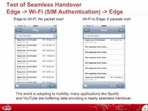 Recorded Webinar - Building a carrier-class Wi-Fi network with 3G offloading