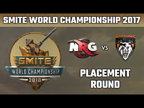 SMITE World Championship 2018: Placement Round - NRG Esports vs. Nocturns Gaming