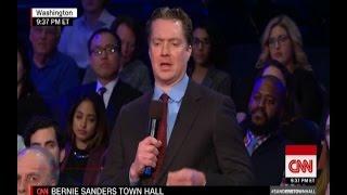 A Guy Drunk On Fox News Propaganda Asks Bernie Sanders Dumb Questions