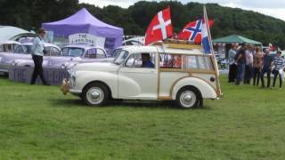 Morris Minor Owners Club National Rally 2016 Grand Parade