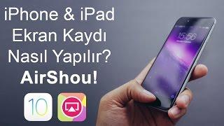 iPhone Ekran Videosu Kaydetme Nasıl Yapılır? [Jailbreaksiz] iOS 10