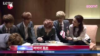 EXO M - 131017 Entertainment Star World 娛樂星天地 (eng subbed)