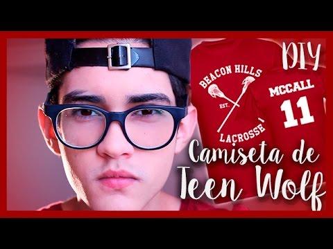DIY | CAMISETA DE TEEN WOLF