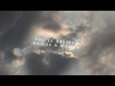 Download Ariana Grande  God is a woman Lyric Video