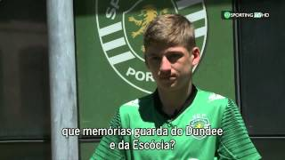 VIDEO: Ryan Gauld Entrevista Completa à Sporting TV