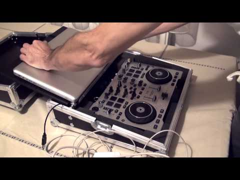 Dj Case for Laptop end midi controller.