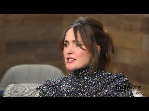 "Rose Byrne discusses her film ""Juliet, Naked"" at IndieWire's Sundance Studio thumbnail"