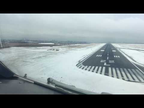 Airbus 340-600 Iberia. Approach & landing at New York (cockpit view)1080pHD
