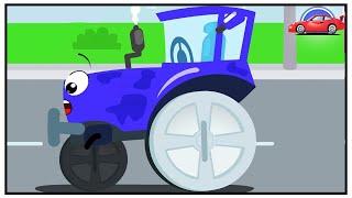 El Tractor y Amigos - Dibujos animados infantiles - Carritos para niños