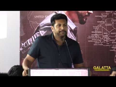 My dad has thought me many lessons from his life - Jayam Ravi