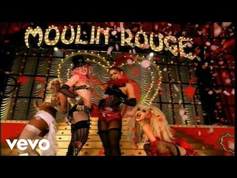 Christina Aguilera, Lil' Kim, Mya, Pink - Lady Marmalade Video