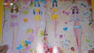 Đồ chơi cho bé gái   Dán hình trang điểm váy đầm cho công chúa   Quyển 3   Tập 2