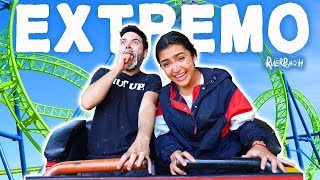 Youtubers vs la Montaña rusa - Retos extremos #RulerPonch Ep. 3