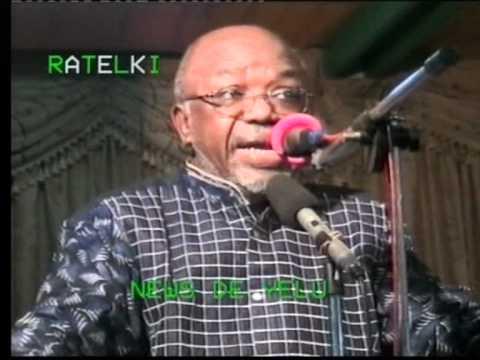 Elikia M'bokolo rend hommage à Simon Kimbangu N'kamba 2009