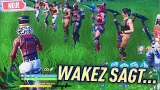 LUSTIGES WAKEZ SAGT... in Fortnite Kreativ 😱🔥