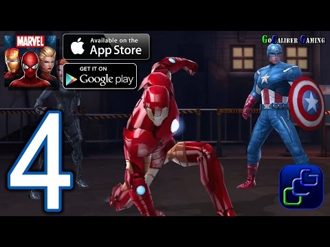 Marvel Future Fight Android iOS Walkthrough - Part 4 - Chapter 1 NORMAL: Stage 8 - Bonus