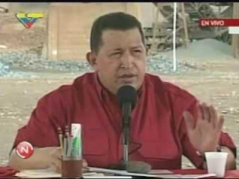 Hugo Chávez habla del Canciller Israeli Avigdor Lieberman