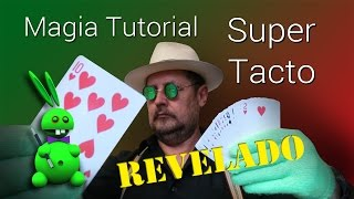 SUPER TUTORIAL: Super Tacto REVELADO (Magic Tutorial:guess playing cards with touch)