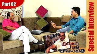 bahubali-writer-k-v-vijayendra-prasad-exclusive-interview-part-02-bahubali-ntv