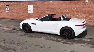 Northern Boys Go Car Shopping Jag F-Type V6 S Convertable
